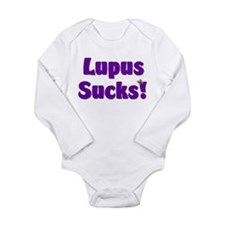 Lupus Sucks! Long Sleeve Infant Bodysuit