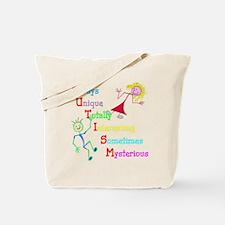 Autism, Always Unique Tote Bag