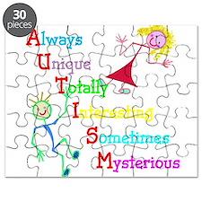 Autism, Always Unique Puzzle