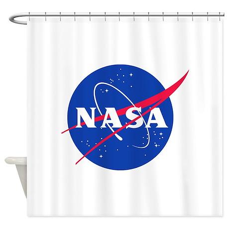 NASA Shower Curtain