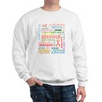 Uterine Cancer Survivor Sweatshirt