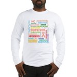 Uterine Cancer Survivor Long Sleeve T-Shirt