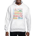 Uterine Cancer Survivor Hooded Sweatshirt