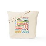 Uterine Cancer Survivor Tote Bag