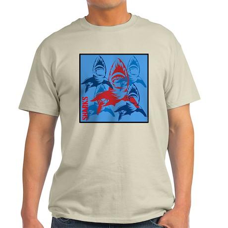 OYOOS Sharks design Light T-Shirt