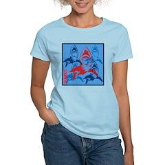 OYOOS Sharks design T-Shirt
