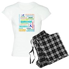 Survivor Cancer Pajamas