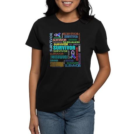 Survivor Cancer Women's Dark T-Shirt