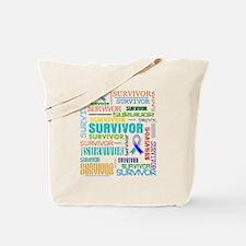 Survivor Cancer Tote Bag