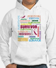 Survivor Throat Cancer Hoodie