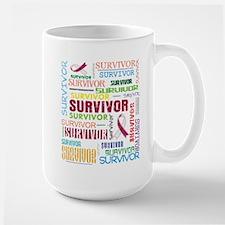 Survivor Throat Cancer Mug