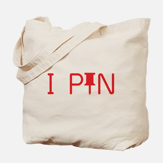 I Pin Tote Bag