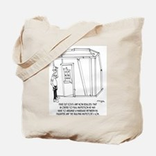 Inspector's Arranged Marriage Tote Bag