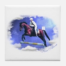 Standardbred Jumping Tile Coaster