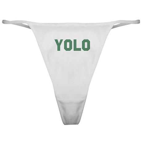 YOLO Classic Thong