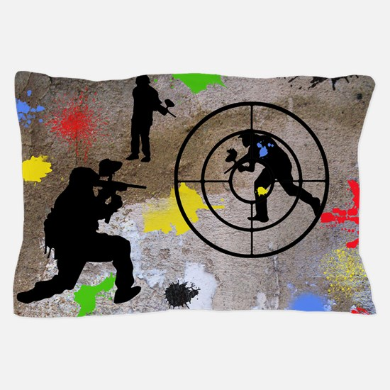 Paintball Aim Pillow Case