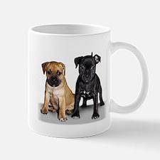 Staffie puppies Mug