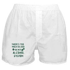 Cool Drinking Design Boxer Shorts
