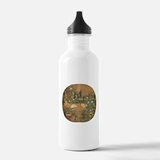 Cute Oriental cat Water Bottle