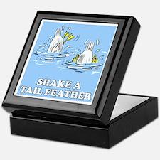 Shake A Tail Feather Keepsake Box