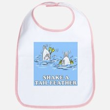 Shake A Tail Feather Bib