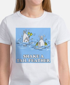 Shake A Tail Feather Women's T-Shirt