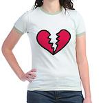 Broken Heart Jr. Ringer T-Shirt
