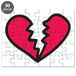 Broken Heart Puzzle