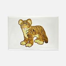 Tiger Cub Rectangle Magnet