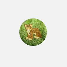 Tiger Cub Mini Button