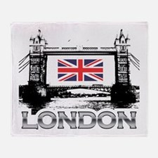 London - Tower Bridge Throw Blanket