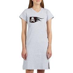 Pirate Flag Women's Nightshirt