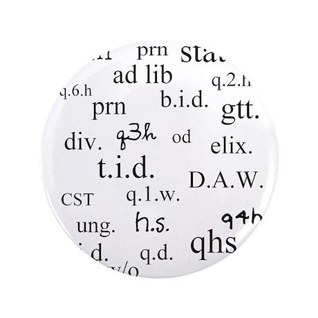 """PharmD Student 3.5"""" Button (100 pack)"""