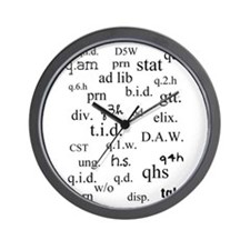 PharmD Student Wall Clock