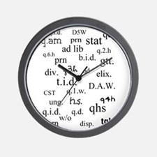 PharmD Student Wall Clock