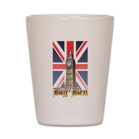 Big Ben Shot Glass