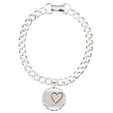 Beach Wedding Heart of Sand Bracelet