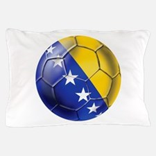 Bosnia Football Pillow Case