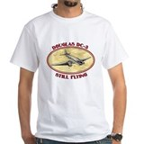Airline Mens Classic White T-Shirts