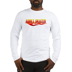 Adult Flame 2 Long Sleeve T-Shirt