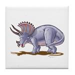 Triceratops Dinosaur Tile Coaster