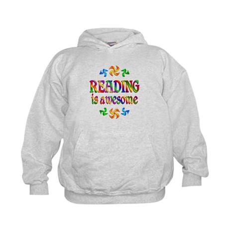 Reading is Awesome Kids Hoodie