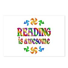 Reading is Awesome Postcards (Package of 8)