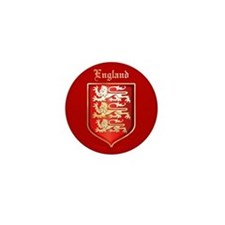 England Mini Button