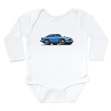 DB5 Blue Car Long Sleeve Infant Bodysuit