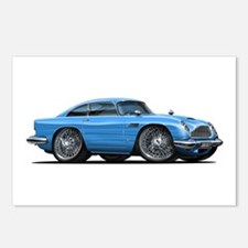 DB5 Blue Car Postcards (Package of 8)
