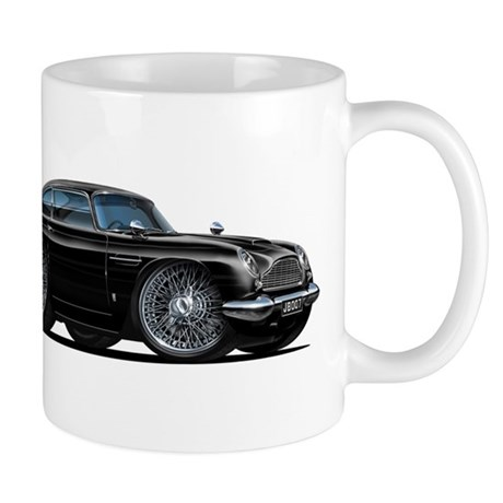 DB5 Black Car Mug