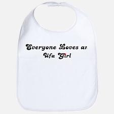 Loves Ufa Girl Bib