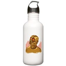 Buy Me A Gold Robot Water Bottle