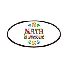 Math is Awesome Patches